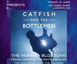 the neighbourhood, catfish and the bottlemen, and blossoms band image