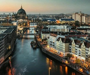 berlin, city, and place image