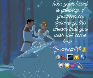cinderella, Dream, and heart image