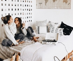 bedroom, friends, and house image