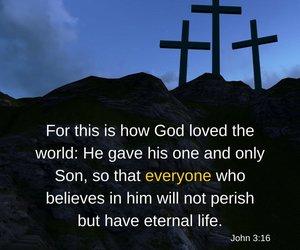 crosses, bible verses, and scripture image