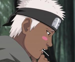 anime, lollipop, and naruto image