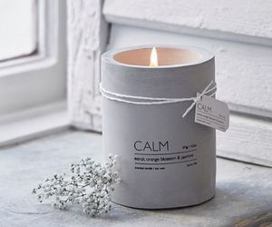 calm, relax, and candle image