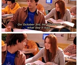 Lindsey lohan, mean girls, and tumblr image