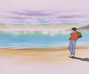 90s, scenery, and anime image