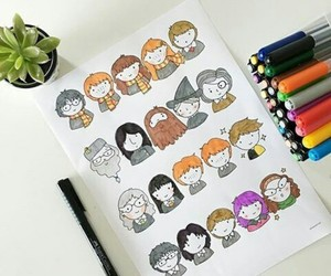 Easy, fanart, and harry potter image