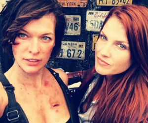 actors, movies, and resident evil image