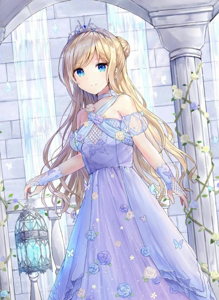 125 Images About Anime Girl Blonde Hair On We Heart It See More About Anime Anime Girl And Blonde