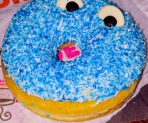 azul, donuts, and dulce image
