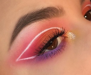 art, beauty, and eye makeup image