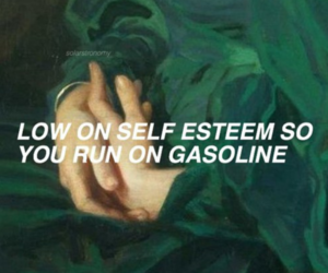 halsey, gasoline, and aesthetic image