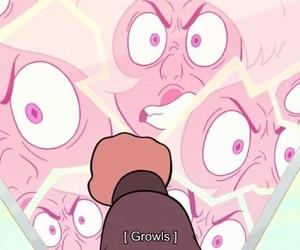 pink diamond, yellow diamond, and steven universe image