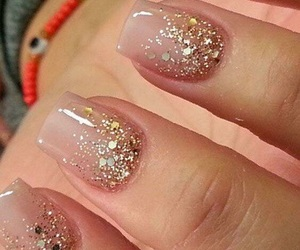 glitter, hands, and Nude image