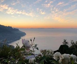 nature, sky, and sunrise image