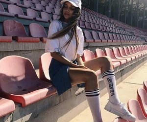 girl, goals, and fashion image