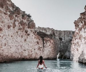 summer, travel, and sea image