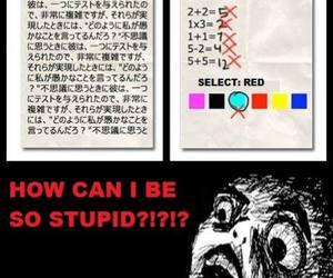 fuck, math, and school image