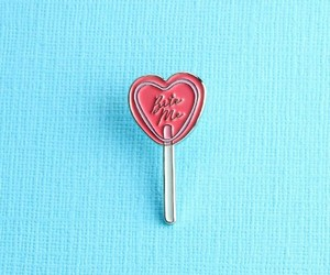 bite me, candy, and heart image