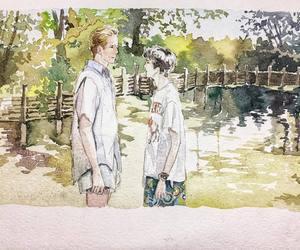 art, boyfriend, and film image
