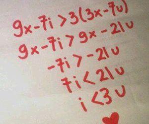 love and math image