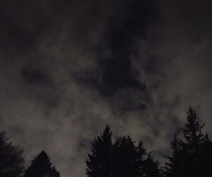 cloudy, night, and sky image