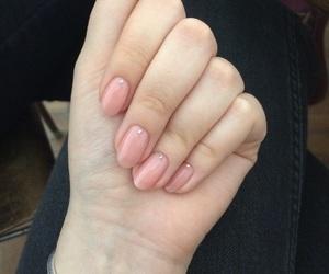 iphone, pink, and nail image