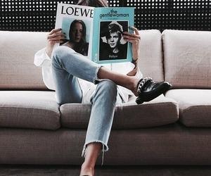 fashion and reading image