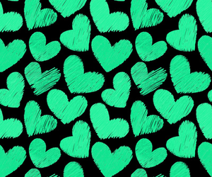 animals, green, and heart image