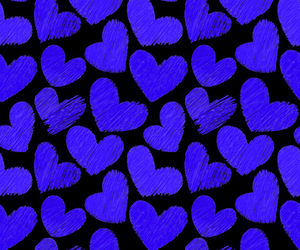 hearts, love, and cute hearts image