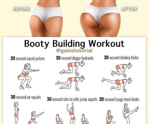 fitness, workout, and crunches image