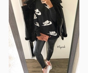 fashion style, outfit clothes, and basket footwear image