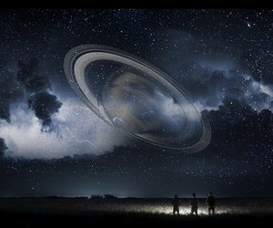 Dream, galaxy, and kids image