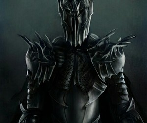 sauron, the lord of the rings, and the hobbit image