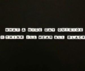 black, clothing, and lol image