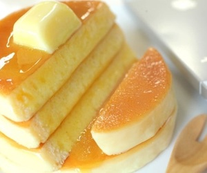 pancakes, yummy, and food image