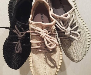 kanye west, shoes, and trainers image
