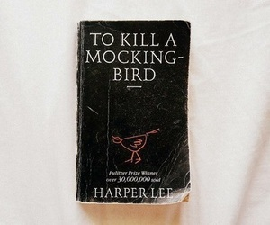 book, vintage, and Harper Lee image