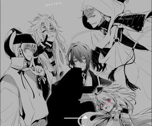 anime boys, mikazuki munechika, and touken ranbu image