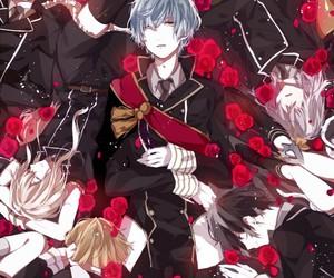 anime boys, yagen toushirou, and honebami toushirou image