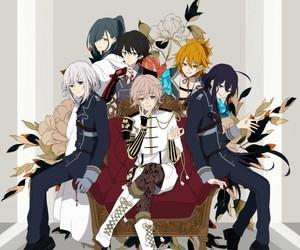 anime boys, honebami toushirou, and monoyoshi sadamune image