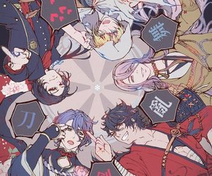 anime boys, touken ranbu, and yamanbagiri kunihiro image