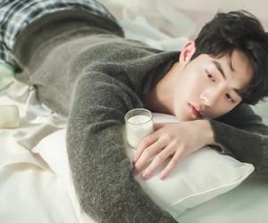 model, korean, and nam joo hyuk image