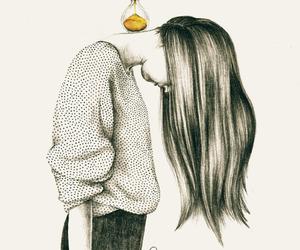 art, girl, and lucy salgado image
