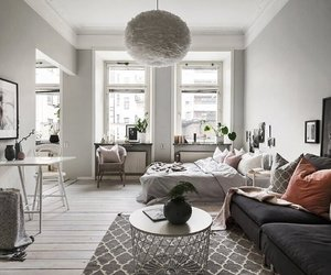apartment, decoration, and home decor image