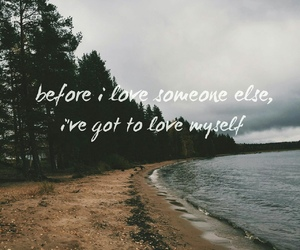 beach, Lyrics, and quote image