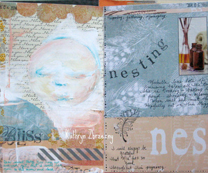 art journal, Collage, and visual journal image