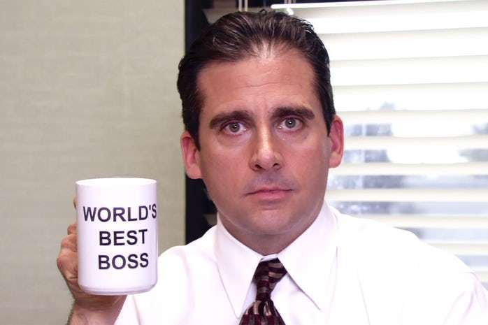 HILARIOUS MICHAEL SCOTT (THE OFFICE) QUOTES on We Heart It