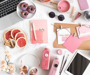 pink, food, and inspiration image