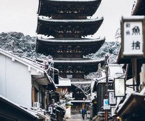 beautiful, japan, and winter image