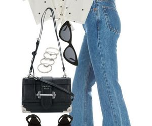 fashion, Polyvore, and outfits image